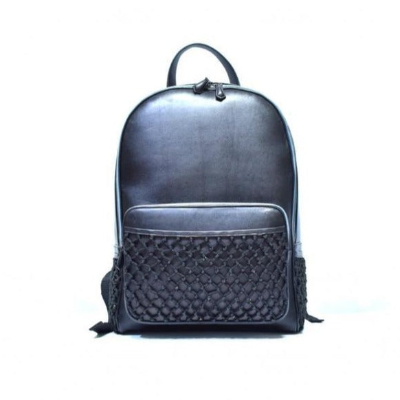 Domelo Black Backpack - The PERSONA Store