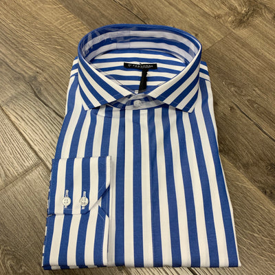 Blue Bengal Stripe- Cut Away - The PERSONA Store
