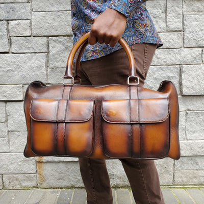 Dozano Brown Duffle - The PERSONA Store