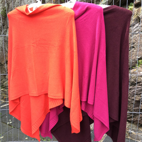 Ponchos - how many is too many to have in your wardrobe?!