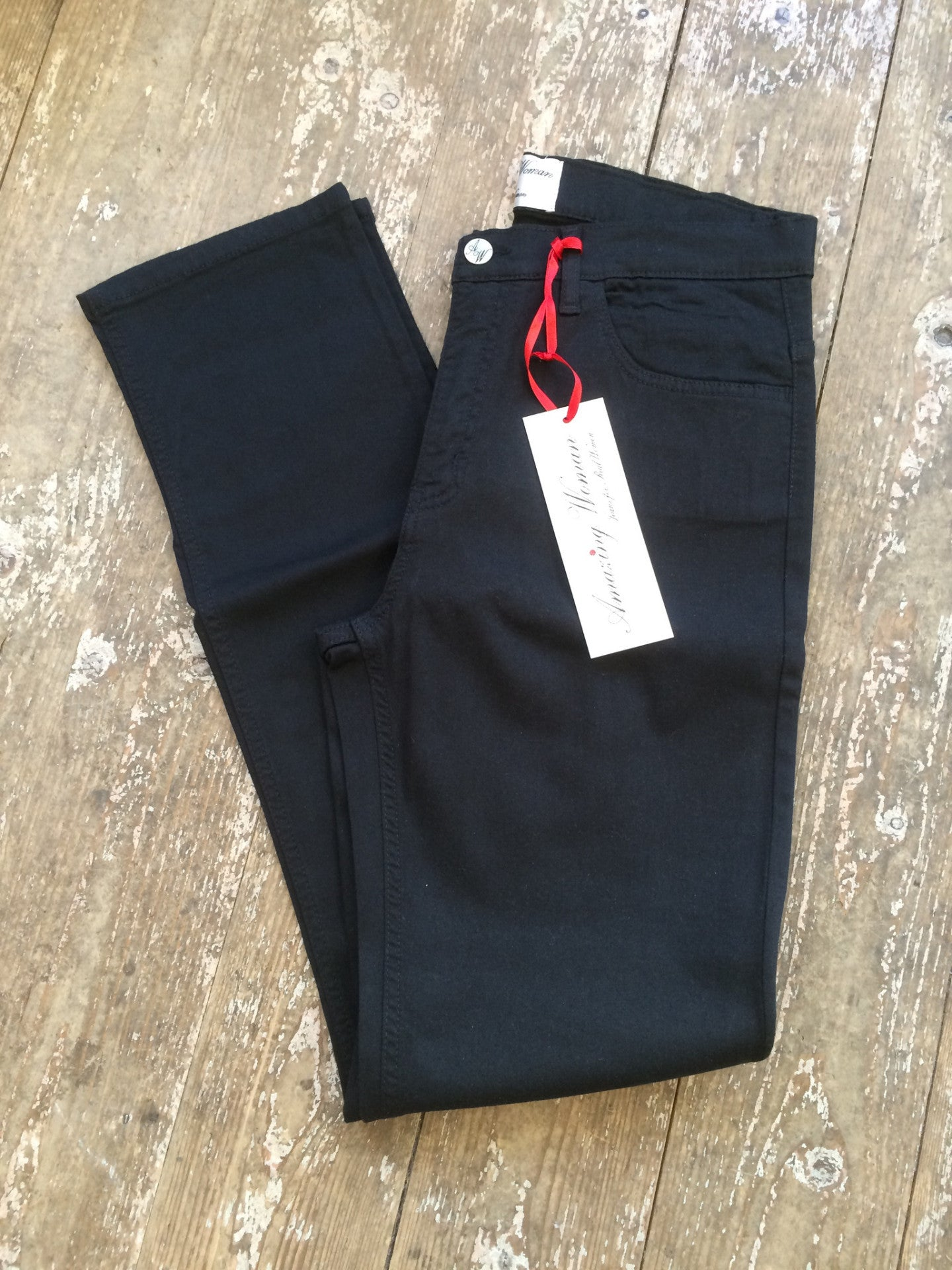 Amazing Woman Jeans 02MOONLT Black Jeans