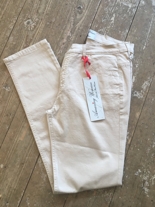 Amazing Woman Jeans 02MOONLT Beige