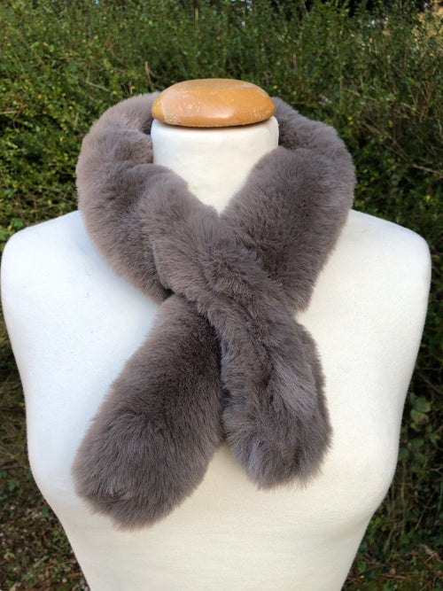 Taupe Neck Warmer