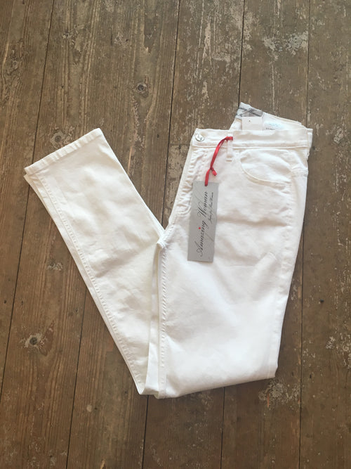Amazing Woman Jeans 02MOONLT White