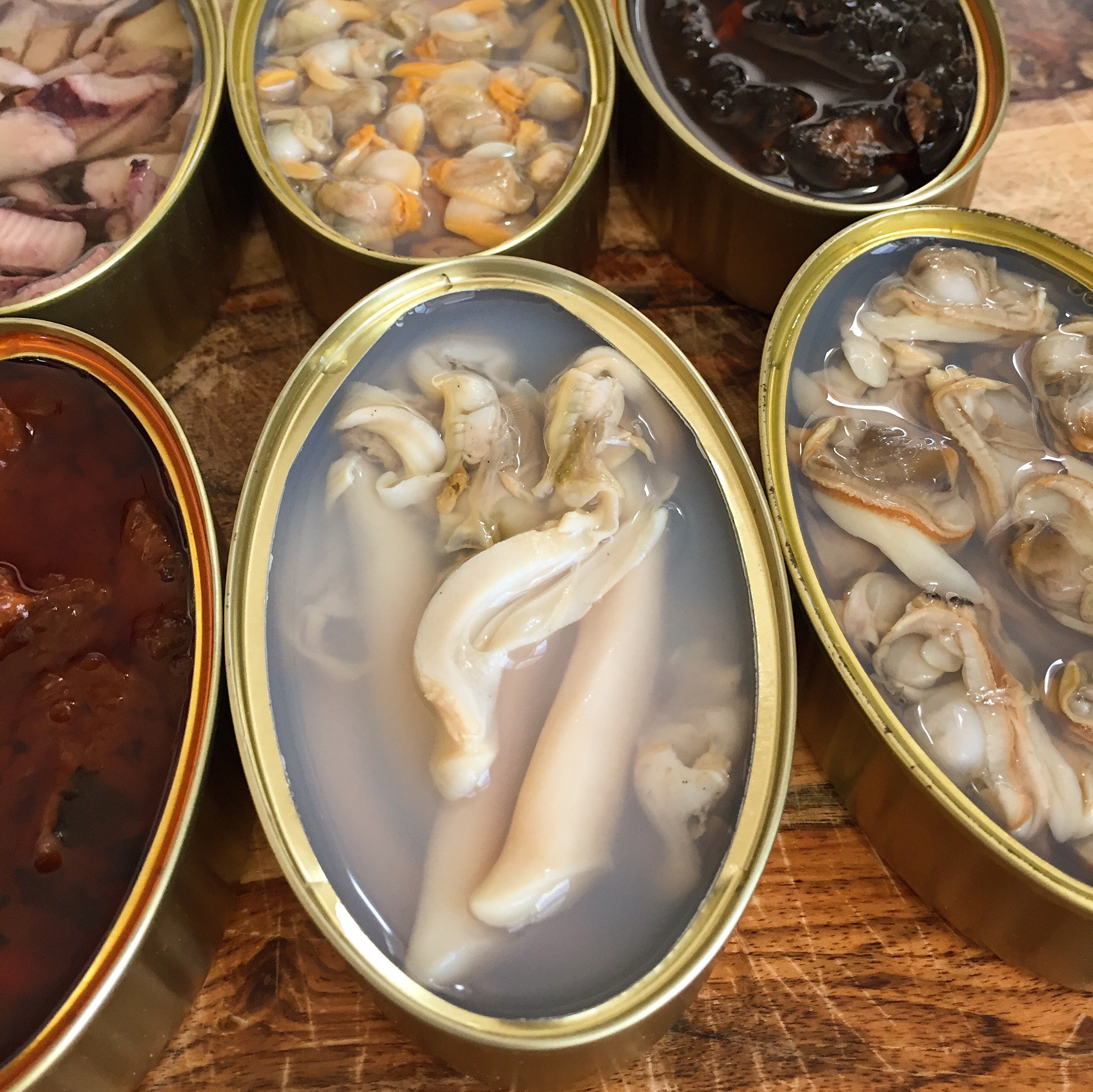 New Tinned Spanish Seafood Now Available