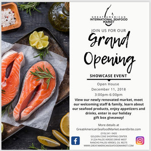 Great American International Seafood Market - Grand Opening