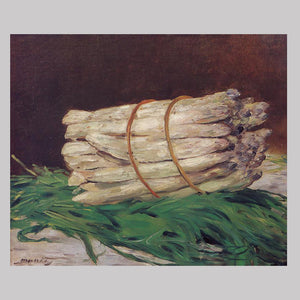 A Bunch of Asparagus - Eduoard Manet - 1880