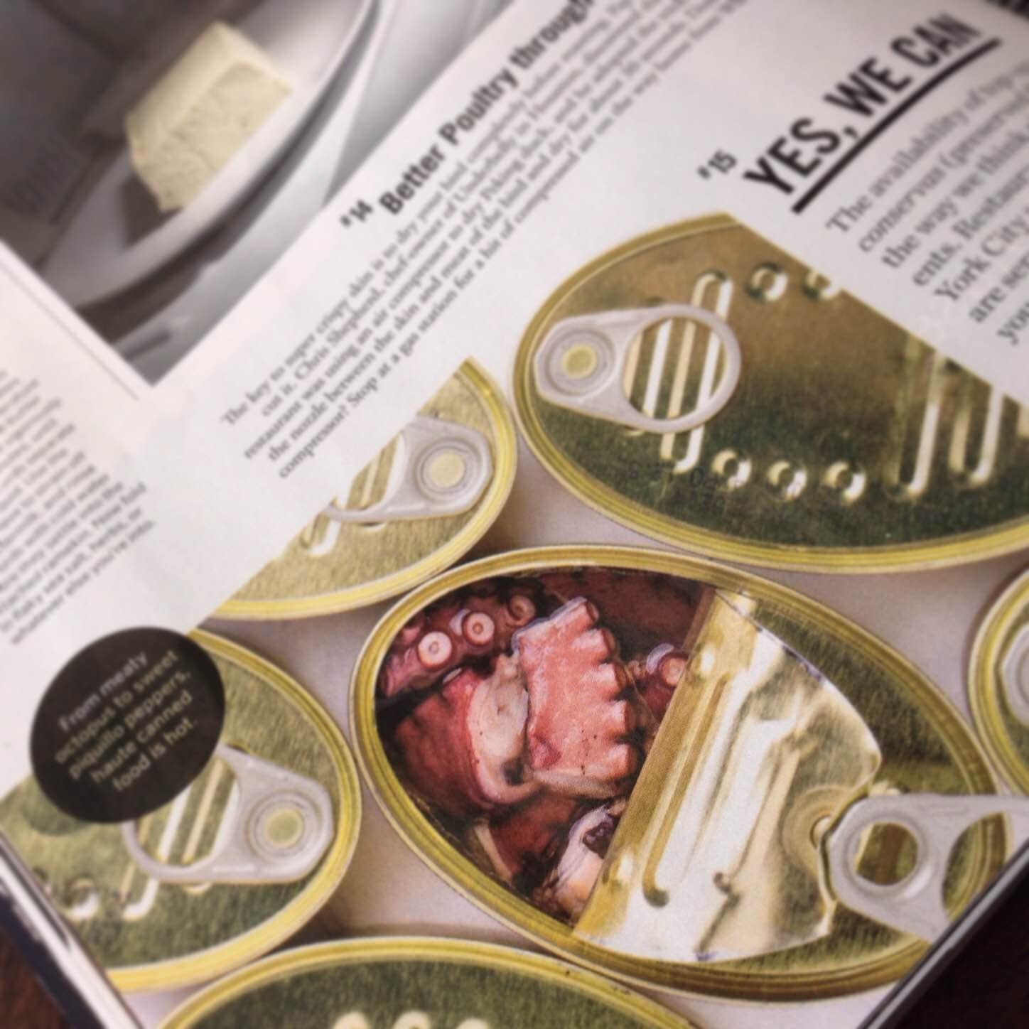 #15 on the Saveur 100 for 2015: Top-Quality Spanish Conservas