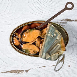 Mussels in Escabeche - photo by Cafe Gala