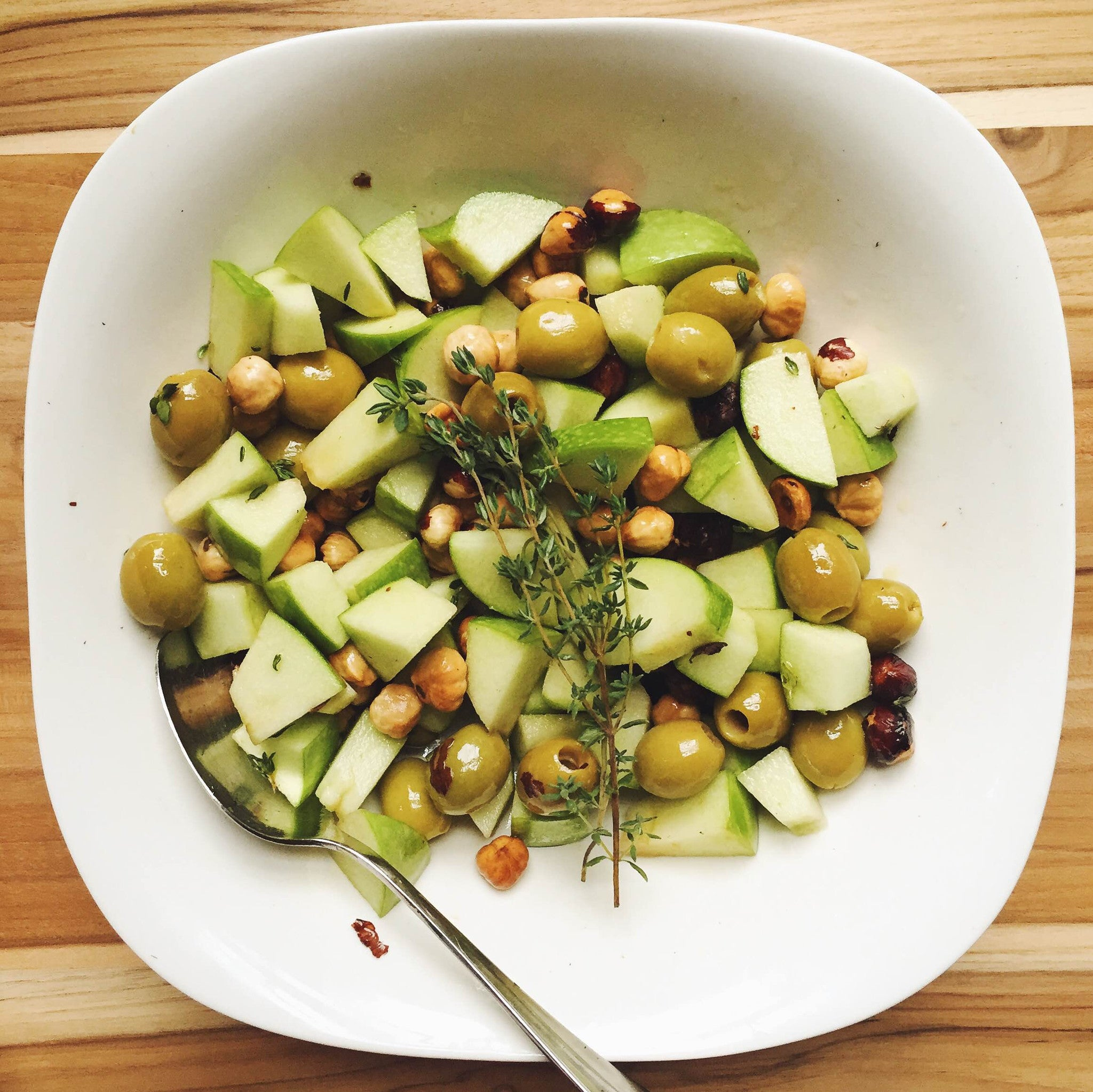Olives & Toasted Hazelnuts Salad