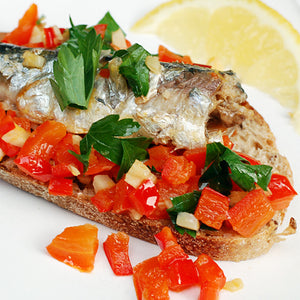 Spanish Sardines on Toast