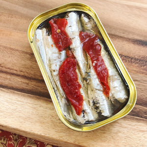 Small Sardines with Piquillo Pepper (square)