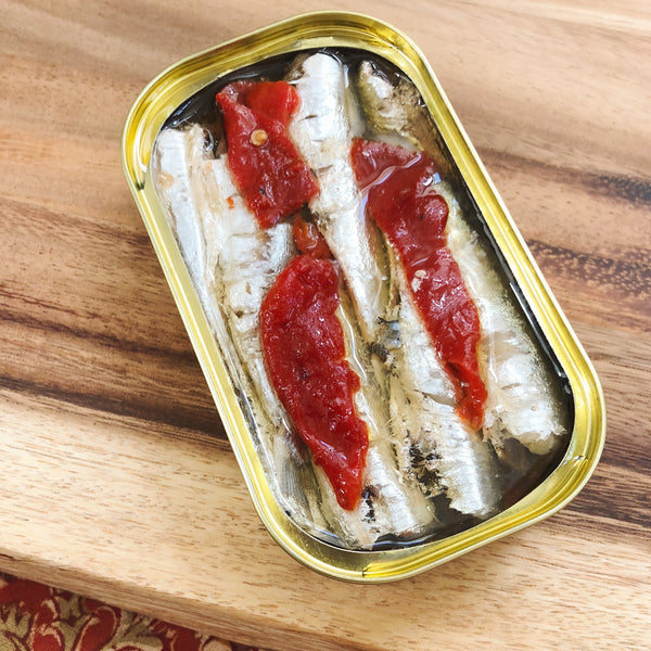 New & Exciting Product: Sardinillas with Piquillo Pepper, The Perfect Tinned Tandem