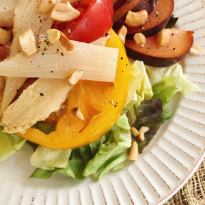 White Asparagus DO Navarre Salad with Honey Vinaigrette