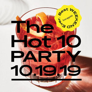 Bon Appétit's The Hot 10 Party in Brooklyn