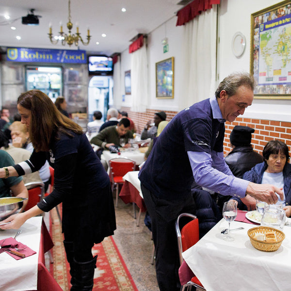 Via NPR: Spain's 'Robin Hood Restaurant' Charges The Rich And Feeds The Poor