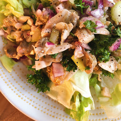Tinned Clams Butter Lettuce Salad