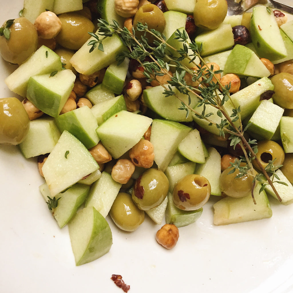 Olives and Hazelnut Salad - Conservas Picnic - Donostia Foods