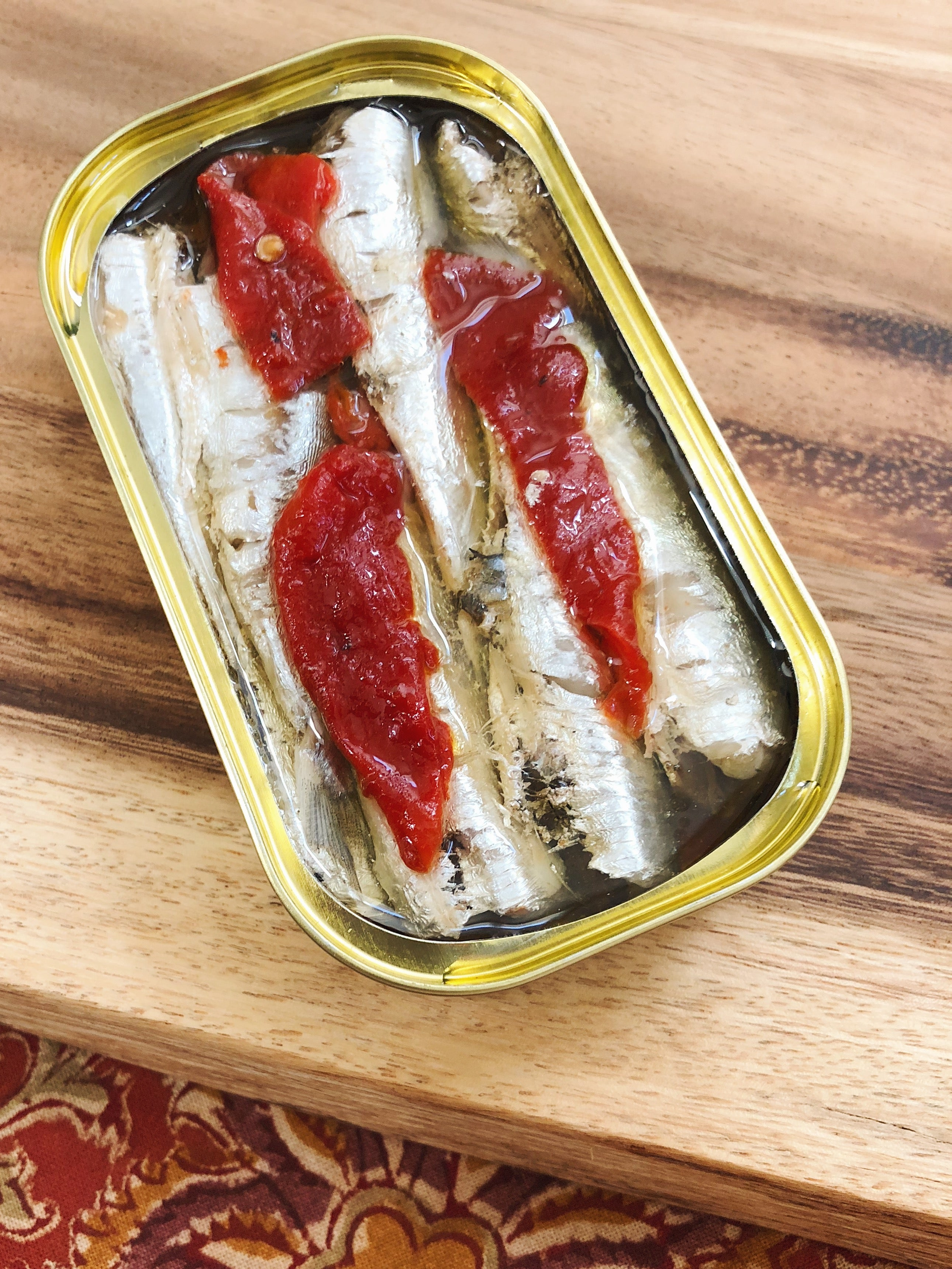 Small Sardines with Piquillo Pepper