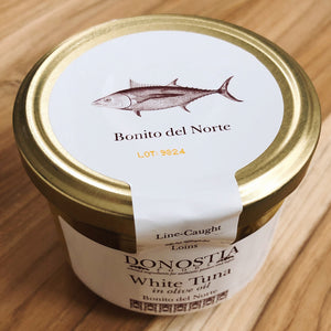 Bonito del Norte tuna jar