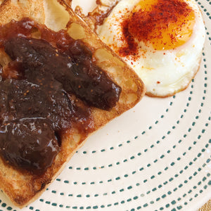 Confiture Parisienne Fig Jam on toast - Donostia Foods