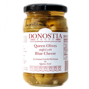 Queen Olives stuffed with Blue Cheese - Donostia Foods