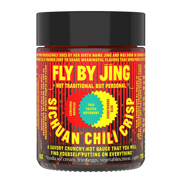 Fly By Jing Sichuan Chili Crisp - Donostia Foods