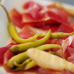 Guindilla Peppers with Bayonne Ham - Donostia Foods
