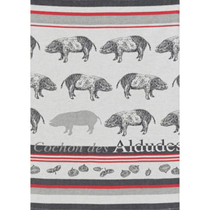 Jean Vier Tea Towel - Pig