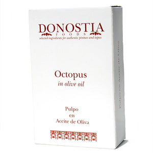 Octopus in Olive Oil - Carton - Donostia Foods