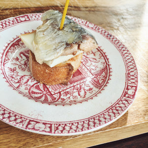 Sardine in Olive Oil with Basque Cheese Pintxo - Donostia Foods