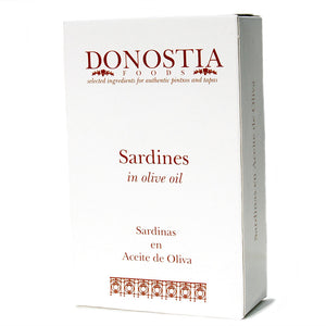 Sardines in Olive Oil - Carton - Donostia Foods