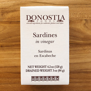 Sardines in Escabeche - Box - Donostia Foods
