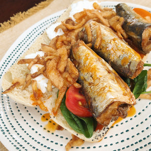 Sardines in Escabeche