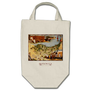 The Basque Coast Grocery Tote Bag - Donostia Foods