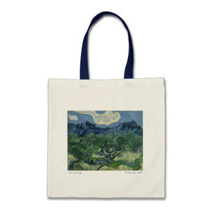 Vincent van Gogh - The Olive Trees - Tote Bag