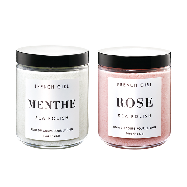 Sea Polish Duo - Menthe & Rose