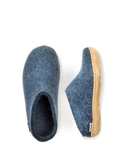 Glerups Felt Slipper - Denim