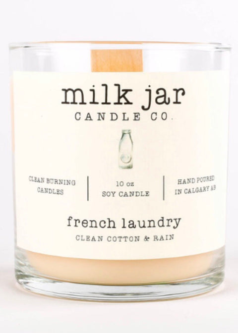Milk Jar Candle Co - French Laundry