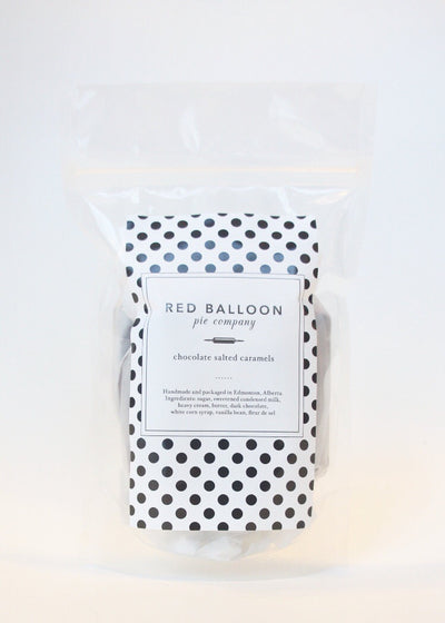 Red Balloon Pie Co Caramels - Salted Chocolate