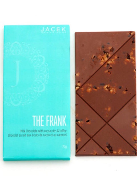 Jacek Chocolate The Frank - Cocoa Nibs & Toffee