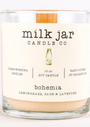 Milk Jar Candle Co - Bohemia