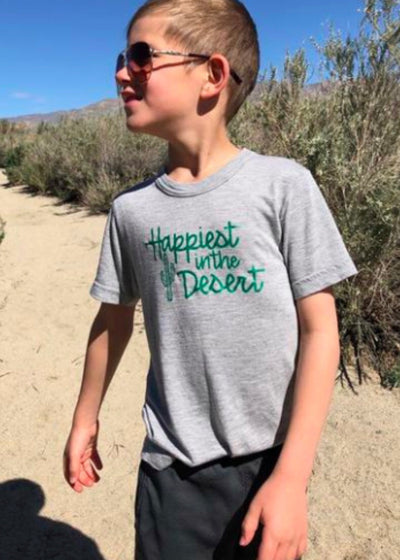 Happiest in the Desert T-Shirt - Toddler/Youth