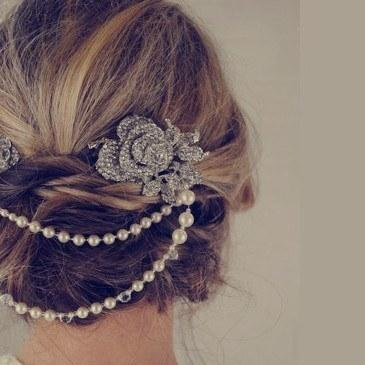 Our Bestsellers List As Chosen By Our Real Brides- Anita Headpiece