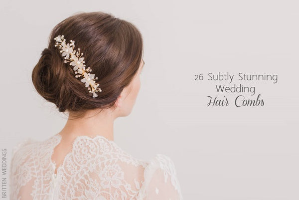 Wedding Online Subtle Hair Combs