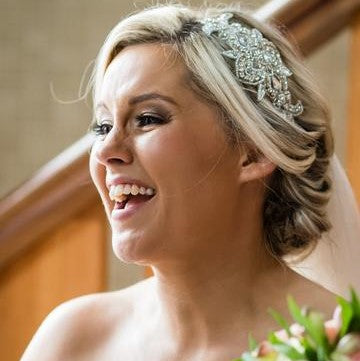 Real Bride Jacinta Wearing Cheryl