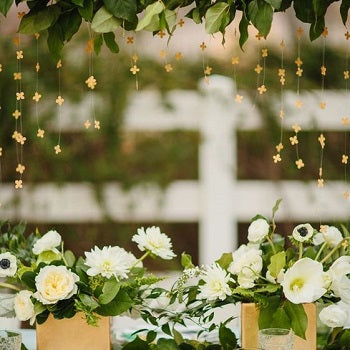 Shamrock Wedding Decor