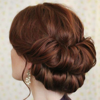 Wedding Hair Upstyle Chignon