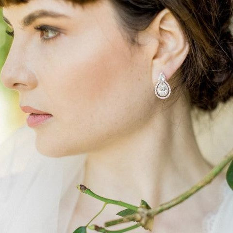 Bella Crystal Earrings