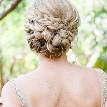 Plaited Hair Wedding